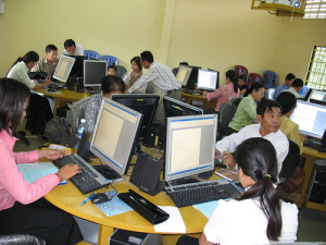 Open School at Yokunthor USS, 24 Nov 2008